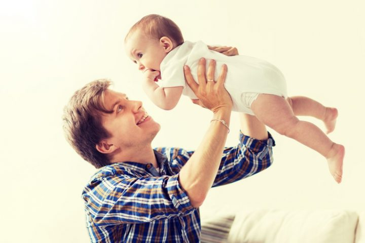 back care advoice for new fathers from our fareham chiropractor